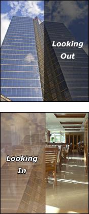Deluxe Bronze window film