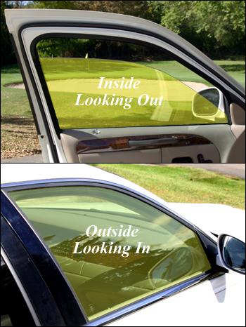 yellow auto window film