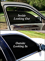 Hybrid auto window film