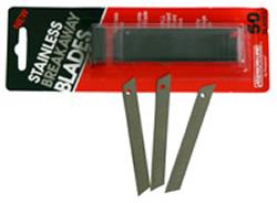 Breakaway razor blades