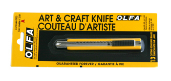 Olfa stainless steel knife