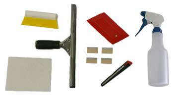 Flat Glass Tool Set